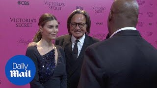 Mohamed Hadid and fiancée at Victoria's Secret Fashion Show - Daily Mail