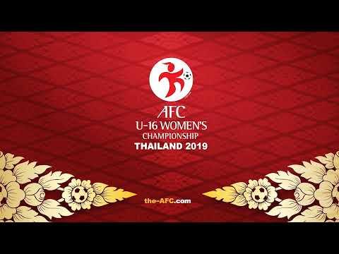 AFC U-16 Women's Championship Thailand 2019 Draw