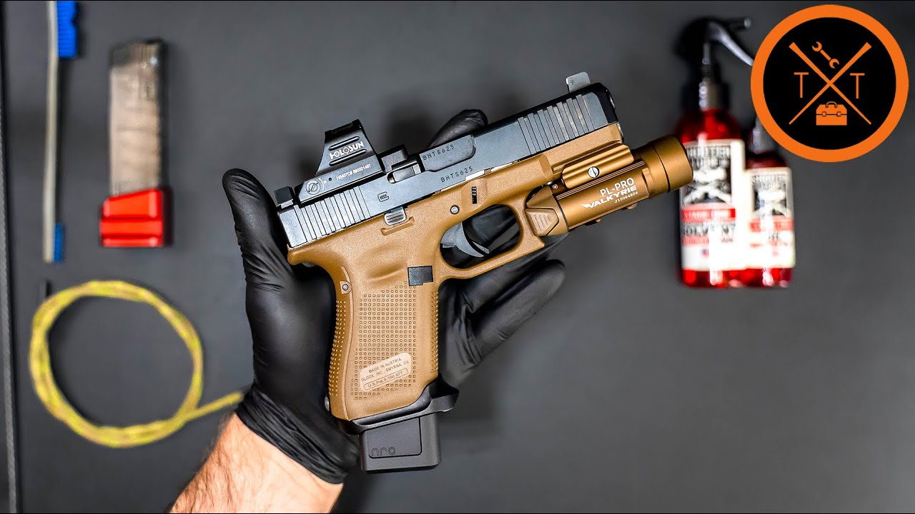 Simple Formula for Cleaning Handguns FAST..(Links & Codes in Description)