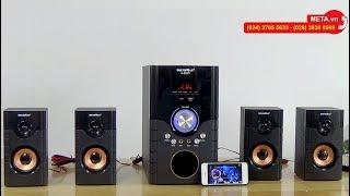 Loa nghe nhạc Soundmax A8920 kết nối bluetooth, hát karaoke, giá chỉ 1.750.000đ