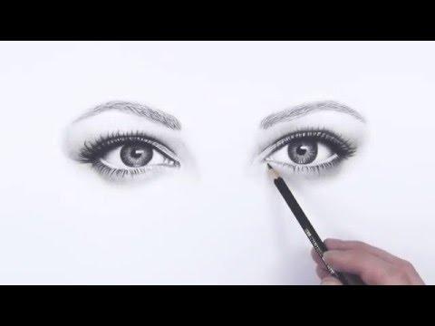 realistische Augen Zeichnen – Promovideo