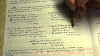 Peremena TV Русский язык, Быстрова, № 236