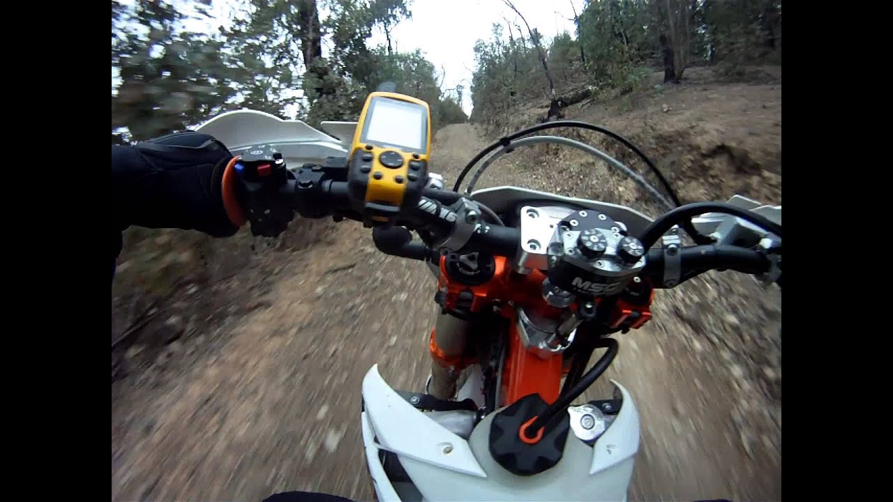 2013 ktm 350 exc six days first ride - youtube