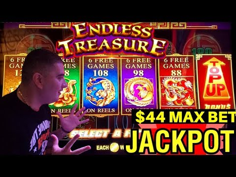 OMG ✦2 HANDPAY JACKPOTS✦! Endless Treasure Slot Machine & Lock It Link Slot Machine Max Bet JACKPOTS