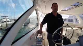 Docking a 2014 3900 Tiara