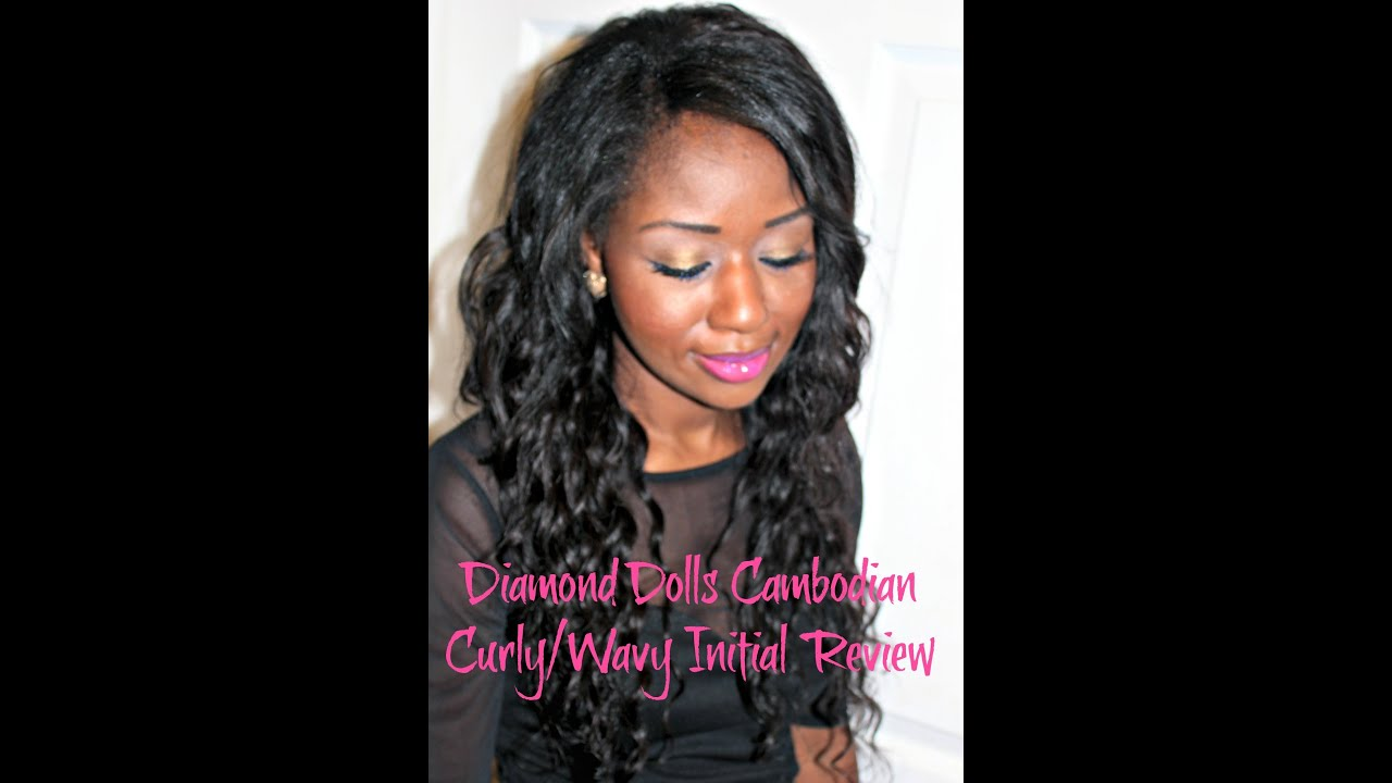 Diamond Dolls Hair Company Cambodian Curly/Wavy Weave ...
