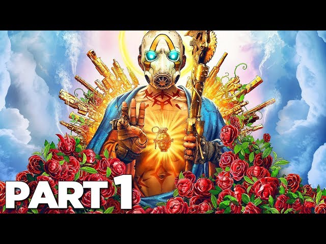 BORDERLANDS 3 Walkthrough Gameplay Part 1 - PROLOGUE (FULL GAME)