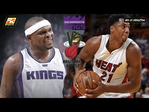 Sacramento Kings VS Miami Heat | NBA 2K18