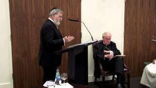 Rabbi Jonathan Sacks at the Catholic Center at NYU, Part I