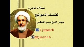 الصلاة النادرة لقضاء الحوائج من جواهر الشيخ حبيب الكاظمي