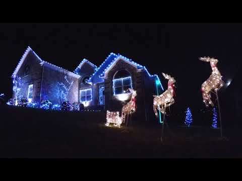 Angie Ward - 6 Houses Program Lights To Luke Bryan Music!