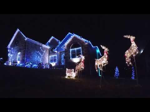 Bob Delmont - Luke Bryan Christmas Light show!!