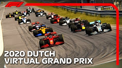 The 2020 F1 Dutch Virtual Grand Prix! - NEW ZANDVOORT GAMEPLAY WITH F1 2020 CARS!