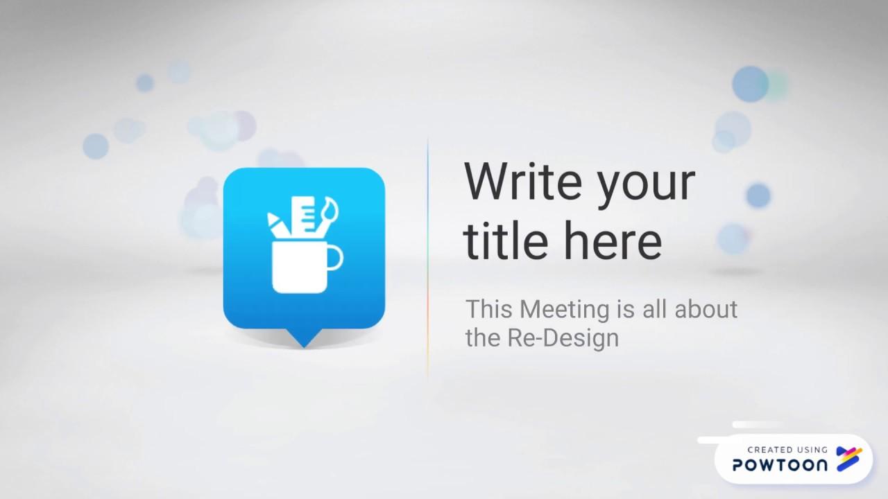 Hr Meeting Recap Video Template Edit This Powtoon Now