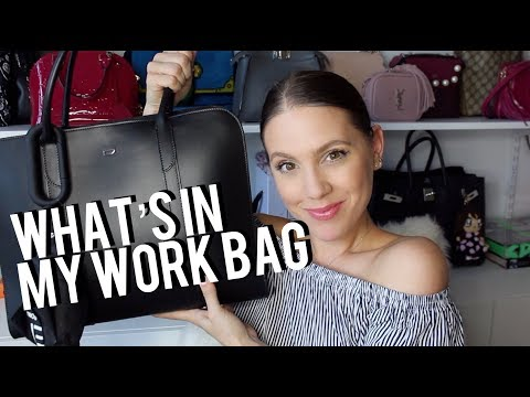 WHAT'S IN MY WORK BAG #BOSSBABE EDITION | MELSOLDERA