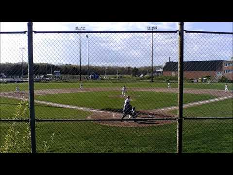 Tyler Wudyka HR vs Bishop Feehan High School May 16, 2019