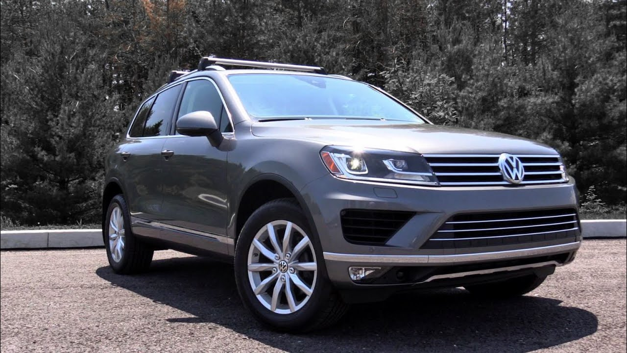 2016 Volkswagen Touareg Review