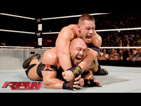 John Cena vs. Ryback - Tables Match: Raw,...