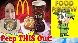 Mcdonald's® Mini Bundt Cake | Cinnamon Coffee Cake Review! Peep This Out!
