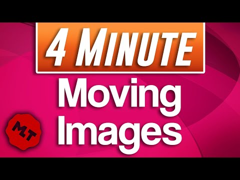 Shotcut - How To Move Images (Animate Movement)