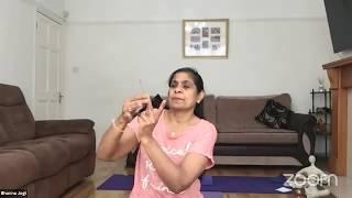 08-07-2020 - Hatha Yoga By Bhavnaben Jogi