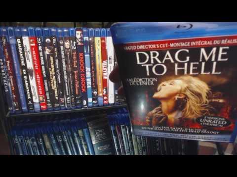 Alphabetizing Blu-rays D-F this time around!  Soft Spoken Chores!