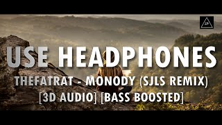 Gambar cover 3D Audio (Bass Boosted) | TheFatRat - Monody (Ft. Laura Brehm) (sJLs Remix) | Lazy Boys Productions