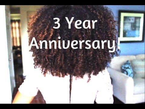 3 years natural hair anniversary