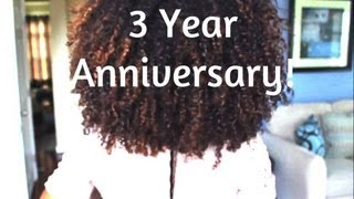 3 years natural hair anniversary