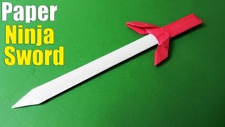 how-to-make-a-paper-sword-ninja-sword-tutorial