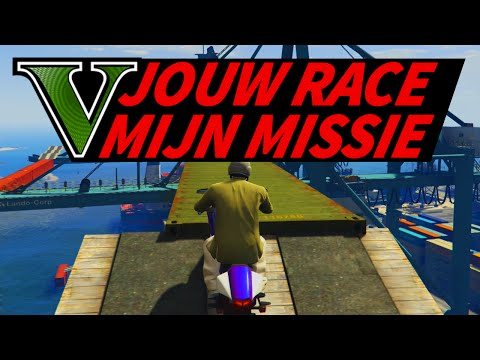 EPIC SCHIP PARCOUR! - GTA 5 Race Van Een Kijker! #5