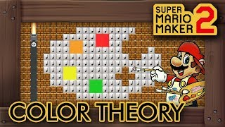 Super Mario Maker 2 - Mario Learns The Color Theory