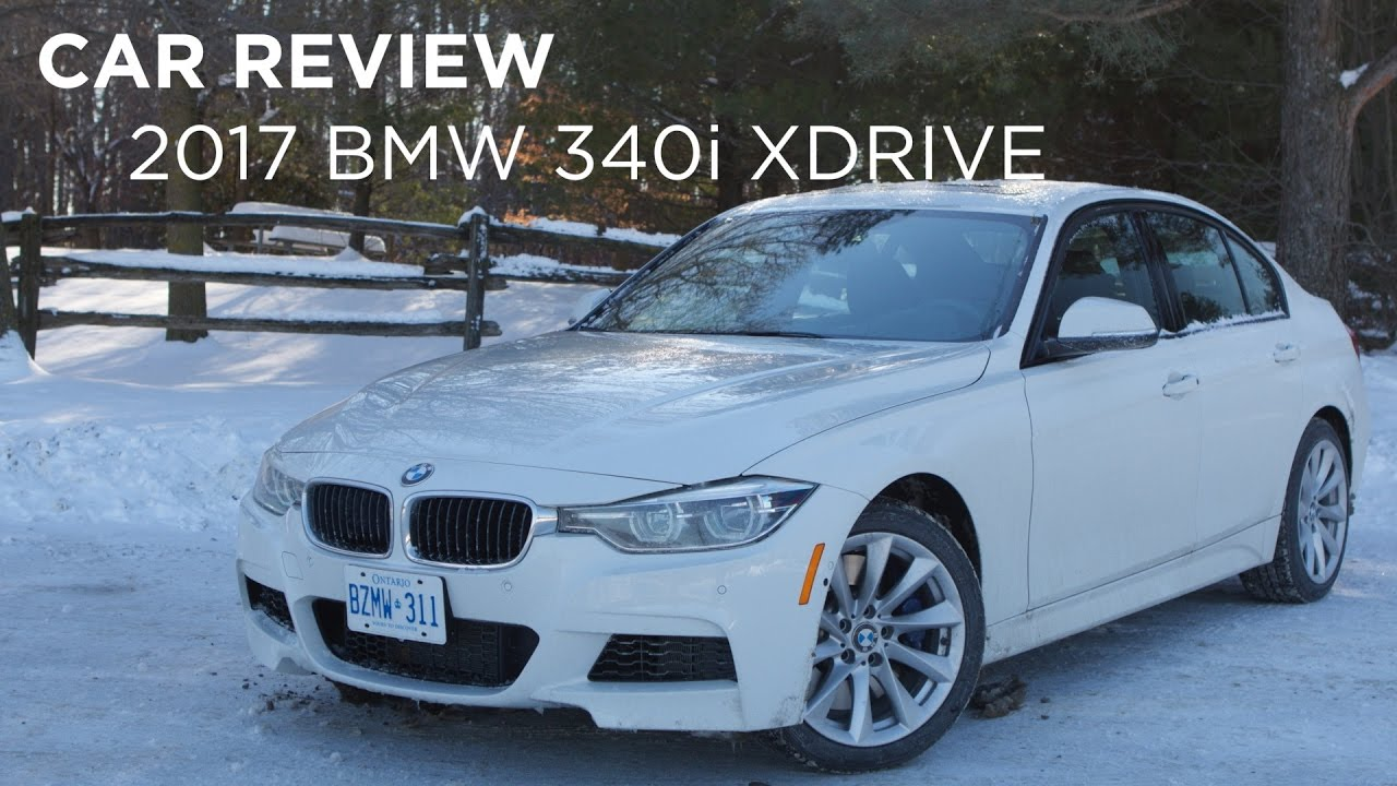 Car Review 2017 Bmw 340i Xdrive Driving Ca Youtube