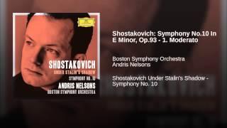 Shostakovich: Symphony No.10 In E Minor, Op.93 - 1. Moderato (Live)