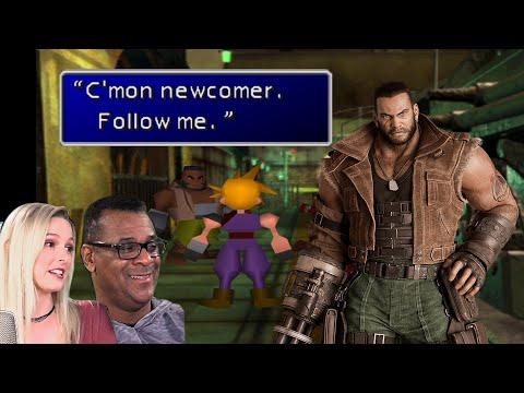 Barret Wallace Voice Actor says original 1997 dialogue