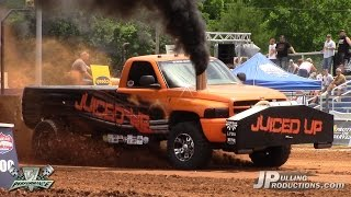 2.6 Diesel Trucks pulling at TS Performance Outlaw Pull: Friday Qual. 2015: Part 2
