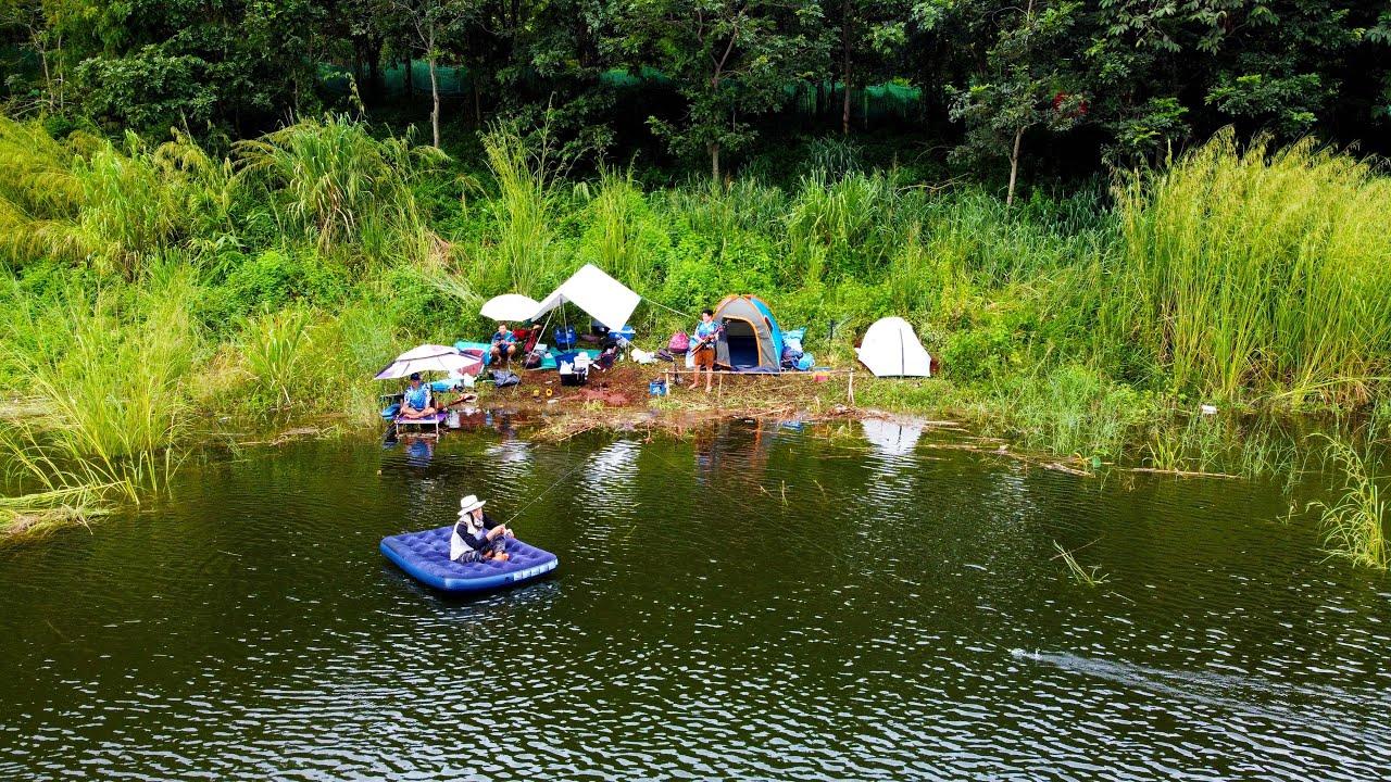 ตามล่าปลาสร้อย 48 ชั่วโมง ตั้งฐานปักหลักชน P.NU FISHING \u0026 Fishing moshi