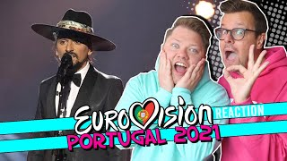 PORTUGAL EUROVISION 2021 / The Black Mamba - Love Is On My Side / Festival da Canção 2021 REACTION