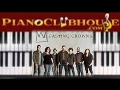 "🎹 How to play ""OH MY SOUL"" by Casting Crowns (easy Christian piano tutorial lesson)"