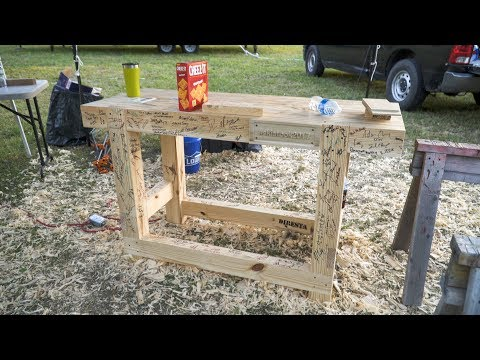 2 day workbench build (outdoor event footage) #skiatook2017 - 281