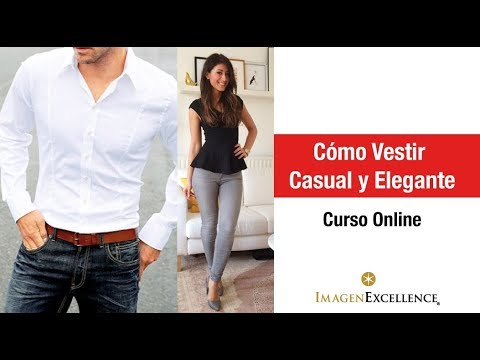 Webinar Como Vestir Casual Y Elegante