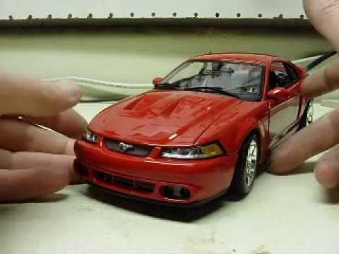 Custom 118 Scale 2003 Ford Mustang Svt Cobra With Working Lights