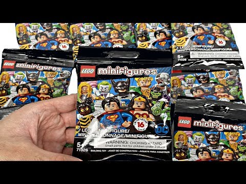 LEGO DC Minifigures - 10 Pack Opening! I MUST FIND BATMAN!!!