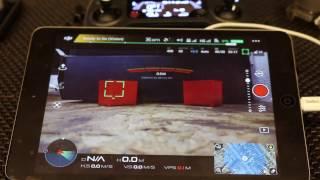 DJI Mavic Pro Camera Focus Info - Tap to Focus VS Autofocus