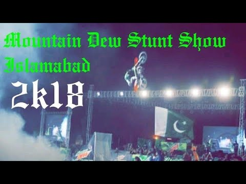 Mountain Dew Stunt Show Islamabad