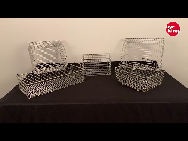 AYRKING COATING BASKETS