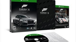 Forza Motorsport 5 Limited Edition/Day One Details/Cover Car