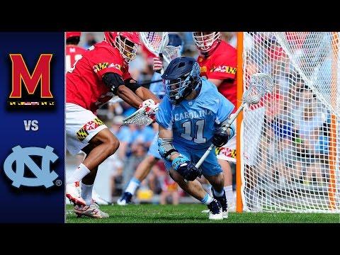 North Carolina vs. Maryland Men's Lacrosse Highlights (2017)