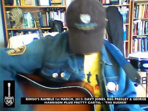 Ringos March Medley: Davy Jones, George Harrison & Reg Presley