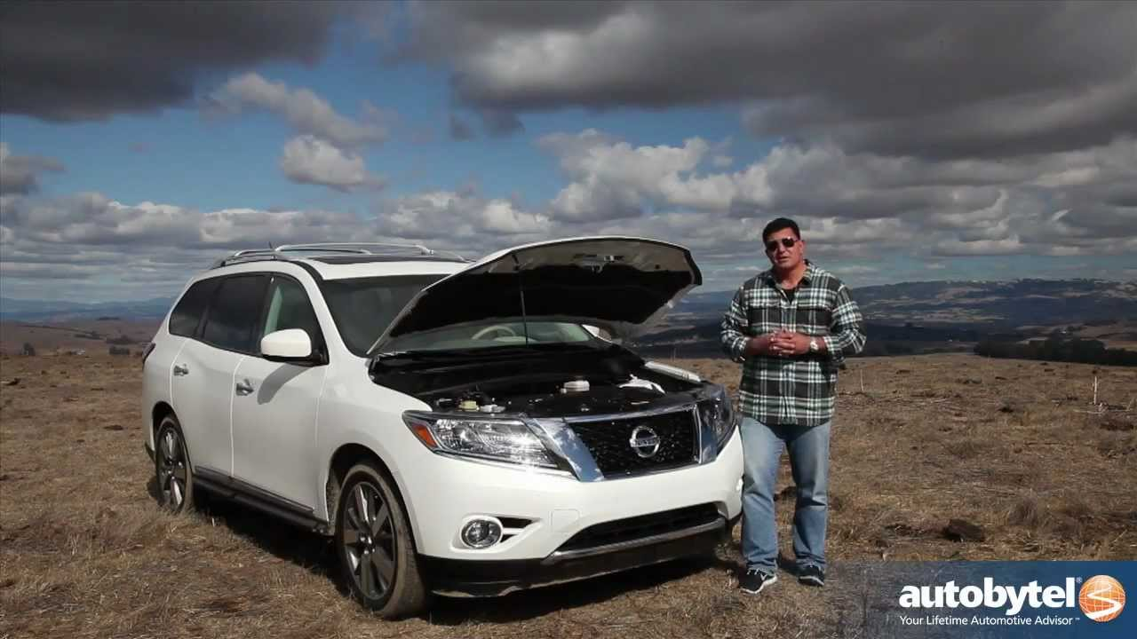 2013 Nissan Pathfinder Off Road Test Drive U0026 Crossover SUV Video Review    YouTube